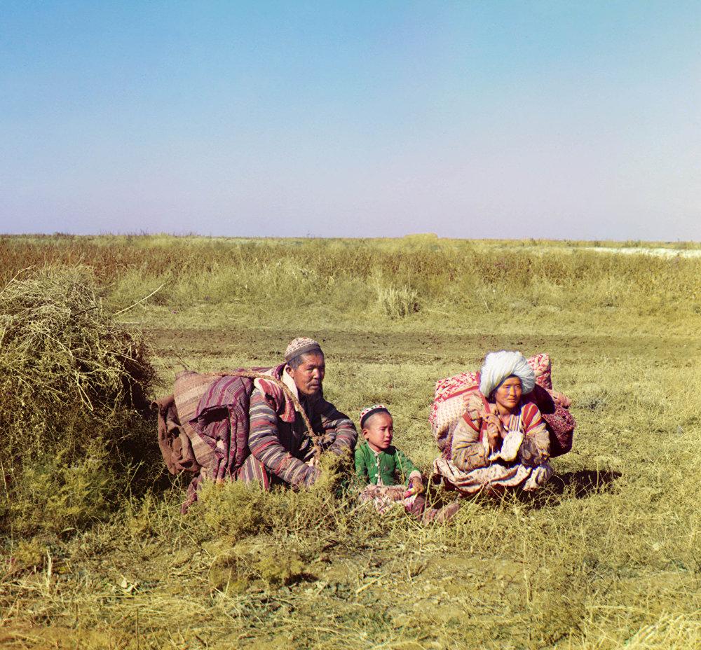 Повседневная жизнь и быт народов Центральной Азии с 1905-го по 1915 года