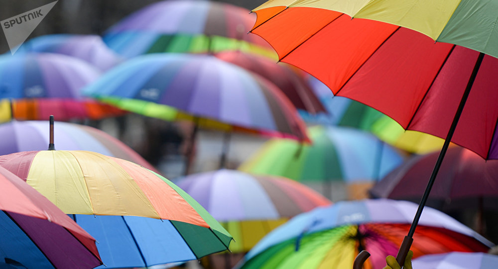 Зонты. Архивное фото