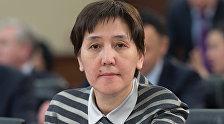 Министр труда и социальной защиты населения Казахстана Тамара Дуйсенова