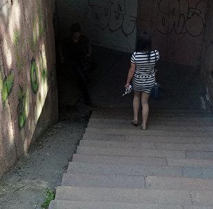 Подземный переход. Архивное фото