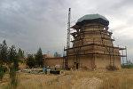 Жалал-Абаддын Ала-Бука районунда жайгашкан Шах-Фазиль тарыхый-архитектуралык комплексин реставрациялоо