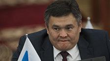 Депутат Жогорку Кенеша от фракции СДПК Марат Аманкулов. Архивное фото