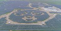 Солнечную электростанцию в виде панд построили в Китае