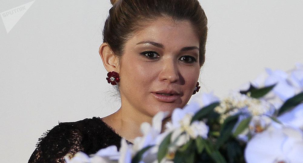Архивное фото старшей дочери первого президента Узбекистана Гульнары Каримовой