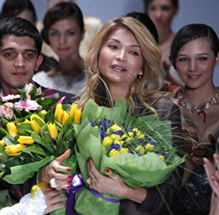 Өзбекстандын биринчи президенти Ислам Каримовдун кызы Гүлнара Каримованын архивдик сүрөтү