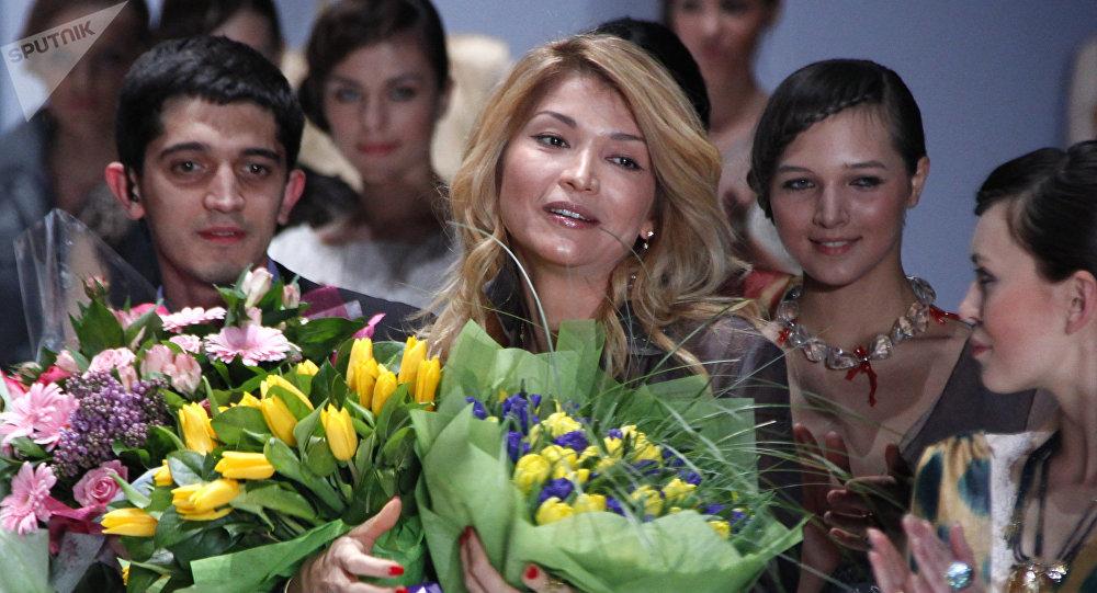 Архивное фото дочери первого президента Узбекистана Гульнары Каримовой