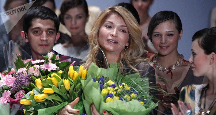 Өзбекстандын мурдагы президенти Ислам Каримовдун кызы Гүлнара Каримованын архивдик сүрөтү
