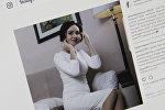 Эстрадная певица Самара Каримова. Фото со страницы Instagram пользователя samarakarimova_official