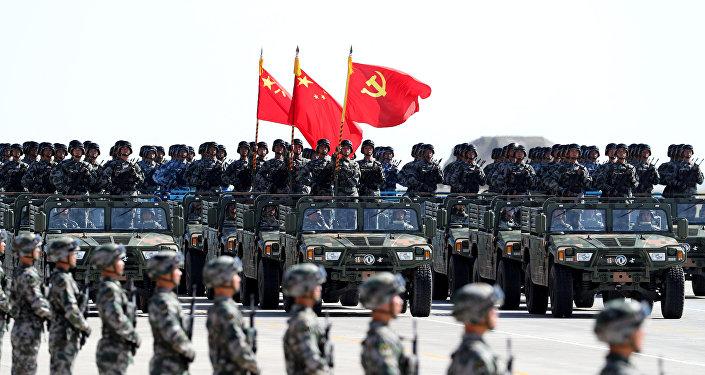 Военнослужащие армии Китая. Архивное фото