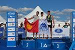 Открытый чемпионат по триатлону в Астане