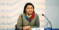 Директор ежегодного международного фестиваля ремесленников Оймо Мээр Кошоева. Архивное фото