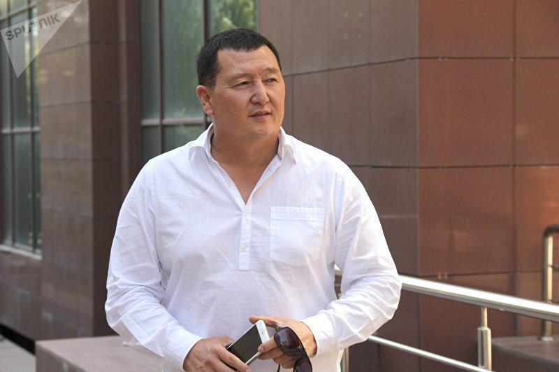 Заслуженный артист Кыргызской Республики, певец Сыймык Бейшекеев. Архивное фото