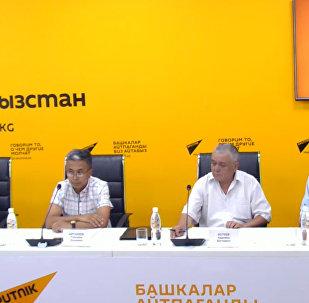 Новые правила экспорта обсудили в пресс-центре Sputnik Кыргызстан