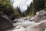 Река в Григорьевском ущелье Иссык-Кульской области. Архивное фото
