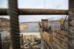 Строительство ГЭС. Архивное фото