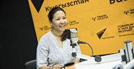 Активист Айжан Чыныбаева