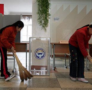 Выборы в Кыргызстане. Архивное фото