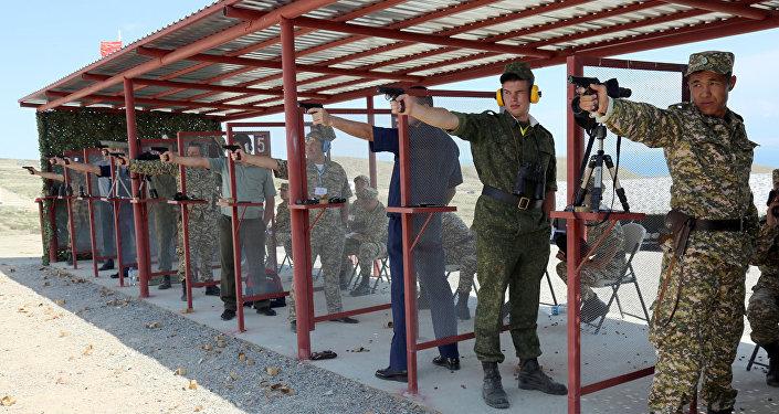 II Военно-спортивные игры дружественных армий стран СНГ
