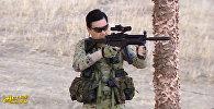 Бердымухамедов учит генералов метать ножи и стрелять — видео с полигона