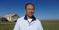 Саламаттык сактоо министрлигинин штаттан сырткаркы башкы пульмонологу, профессор Талант Сооронбаев. Архив