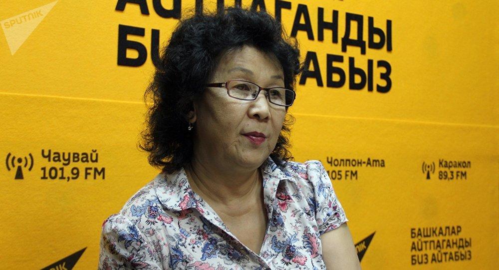 Специалист по вопросам детского питания Турсун Мамырбаева