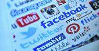 Логотипы популярных социальных сетей