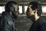 На этом снимке, выпущенном Sony Pictures, изображены Идрис Эльба, слева, и Мэтью МакКонахи в фильме Columbia Pictures Темная башня
