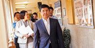 Первый официальный кандидат в президенты Темир Сариев
