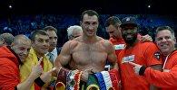 Бокс боюнча оор салмактагы дүйнөнүн мурдагы чемпиону Владимир Кличконун архивдик сүрөтү