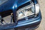 Архивное фото автомобиля попавшей в ДТП