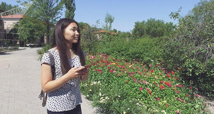 Участница международного проекта Ты супер! Танцы, кыргызстанка Нуриза Кочкомбай кызы