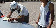 Ысык-Көлдө милиция кызматкерлери рейд жүргүзүп, анын алкагында жол эрежесин бузган жөө адамдар дагы айыпка тартылды
