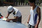 Рейд нарушение Правил дорожного движения в Иссык-Кульской области