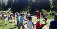 В Нарынской области впервые после распада СССР заработал лагерь для детей