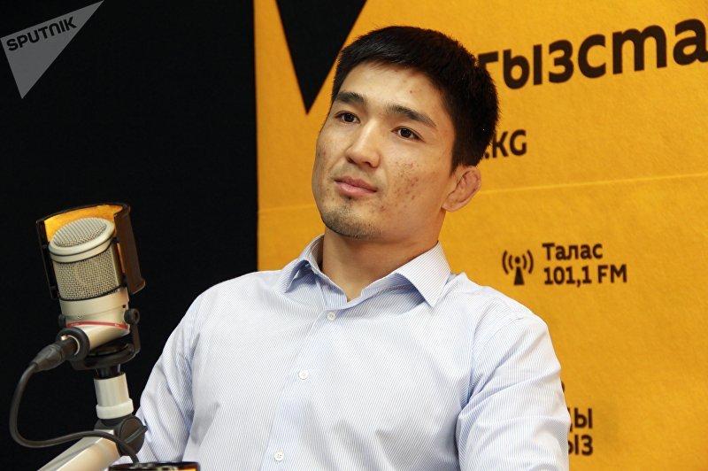Пятикратный чемпион WEF MMA, двукратный чемпион Кыргызстана по MMA Самат Эмильбеков