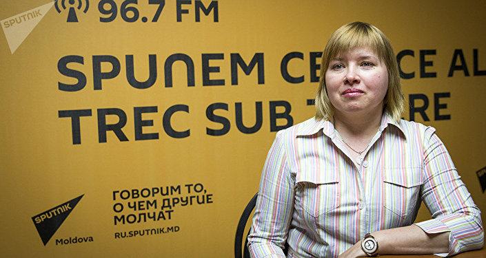 Заведующая реанимационным отделением Инфекционной больницы имени Тома Чорбэ Галина Кирьякова