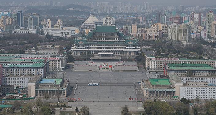 Пхеньян шаары. Түндүк Корея. Архив