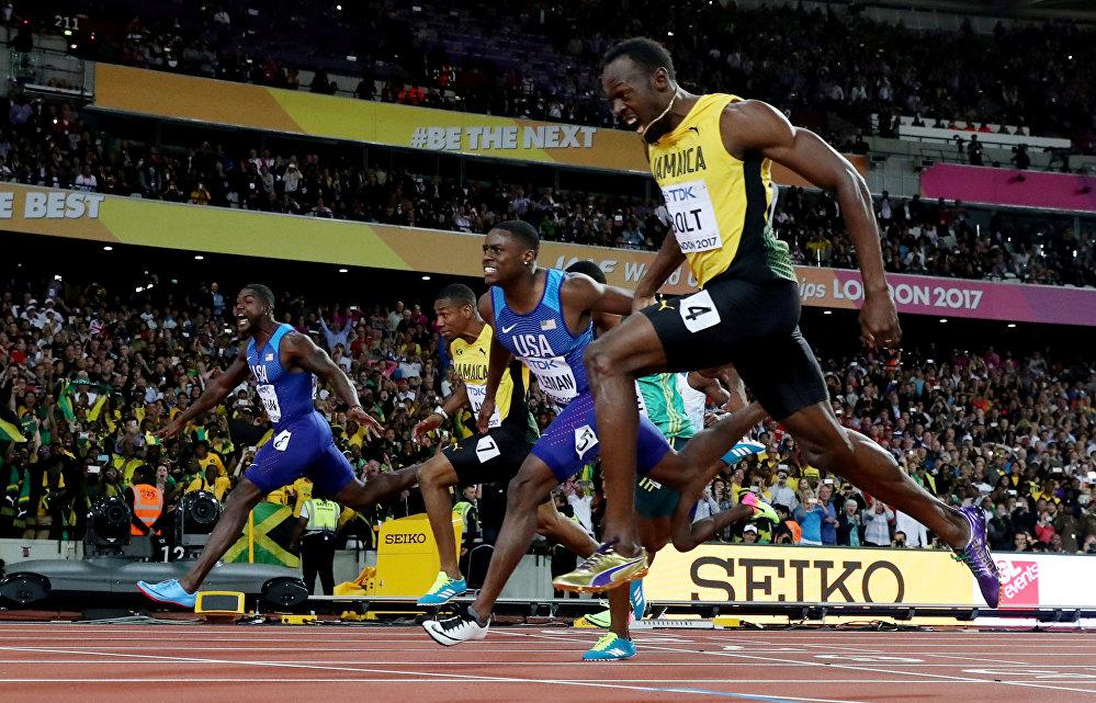 Атактуу жөө күлүк Усейн Болт 100 метрлик аралыкка чуркоодо Жастин Гэтлин менен Кристиан Коулманга жеңилип калды. 30 жаштагы атлет 2017-жылы боло турчу дүйнө чемпионатынан кийин карьерасын жыйынтыктай турганын билдирди