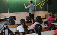 Начальная школа Пьера Леве в Ла-Ярне под Ла-Рошель, на юго-западе Франции
