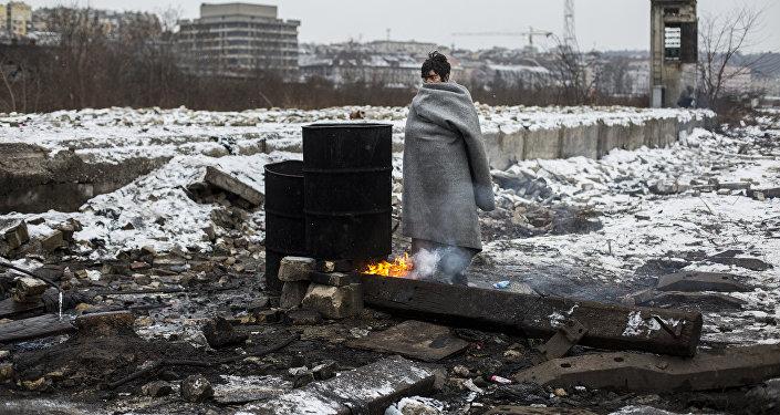 Беженцы в Белграде. Работа испанского фотографа Алехандро Мартинеса Велеса