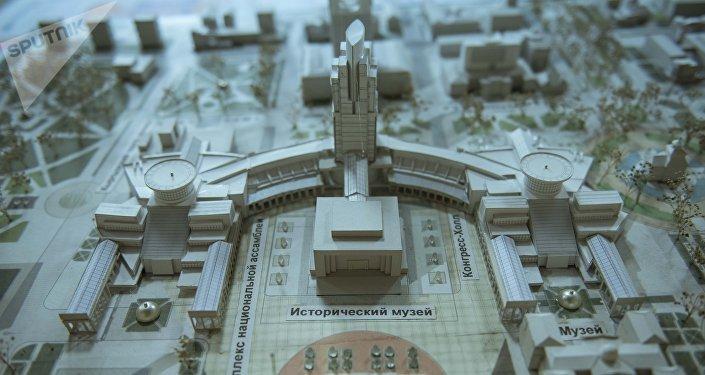 Келечектеги Бишкектин борбордук бөлүгү