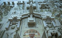 Иногда идеи архитекторов выходят за рамки квартала. Каким может стать Исторический музей. Сзади него планируется возвести величественный комплекс с многоэтажным зданием в виде шпиля