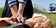 Учения по оказанию первой помощи. Архивное фото