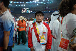 Архивное фото спортсмена из Кыргызстана Базара Базаргуруева на Олимпийских играх в Пекине