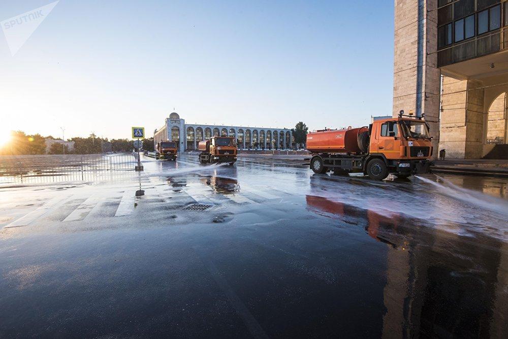 Деятельность МП Тазалык в Бишкеке