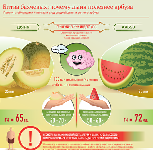 Дыня или арбуз: что полезнее?