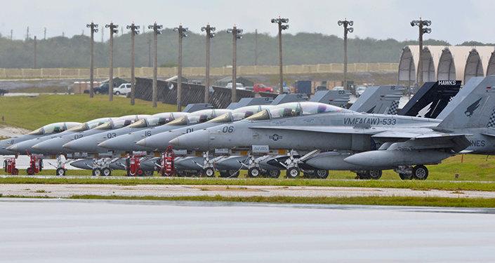 Военная база США на острове Гуам