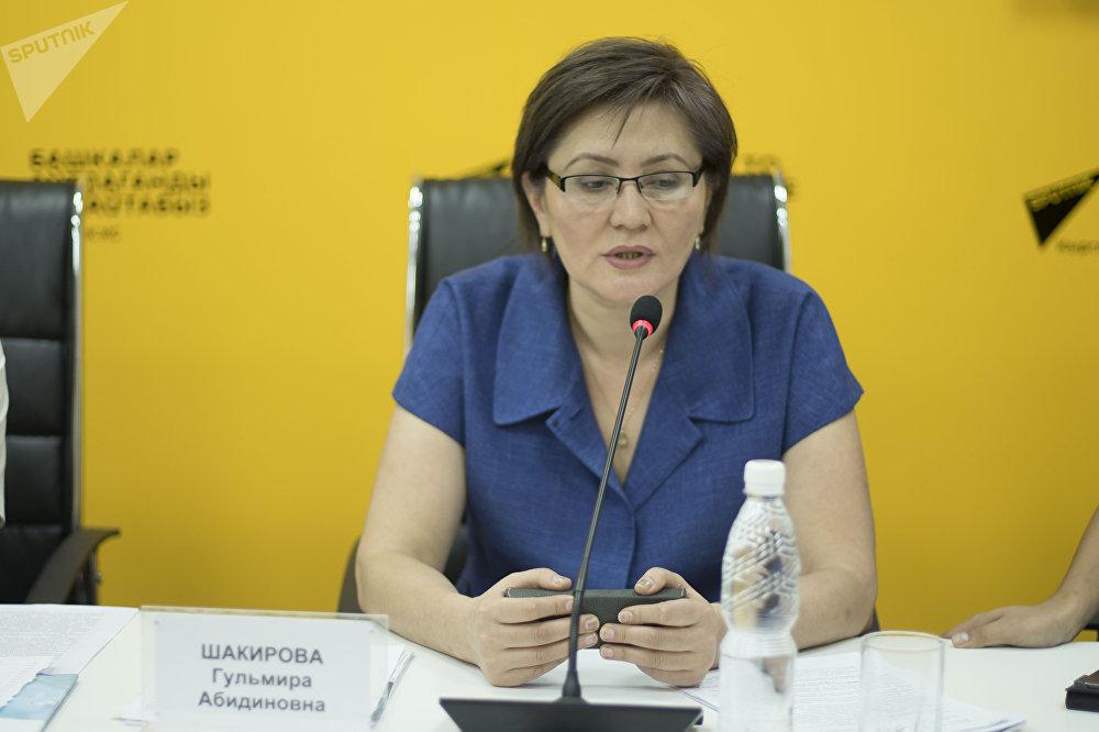 Генеральный директор Департамента лекарственного обеспечения и медицинской техники (ДЛОиМТ) при Минздраве КР Гульмира Шакирова