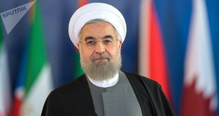 Действующий президент Ирана Хасан Роухани. Архивное фото