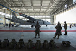 Самолет АН-26 на авиабазе Кант. Архивное фото